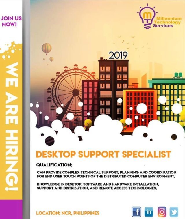 Desktop Support Specialist
