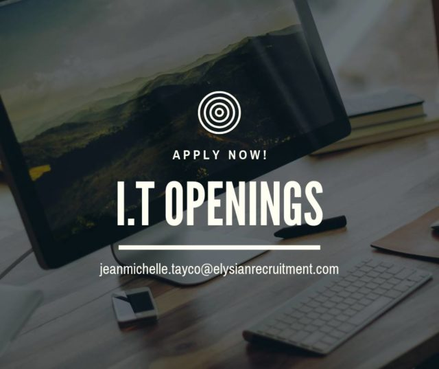 I.T. Openings