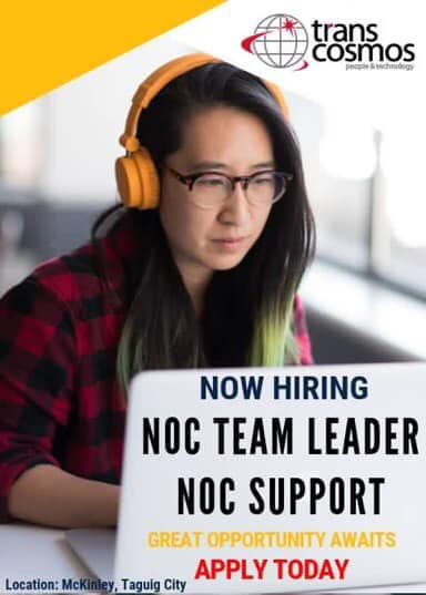 NOC Team Leader and Support