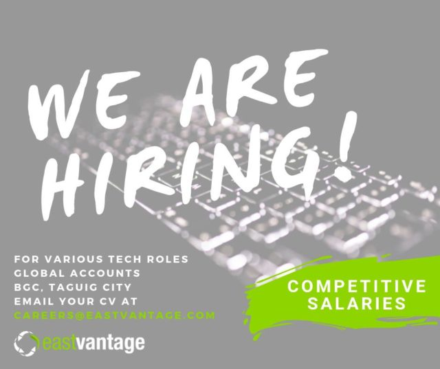 EastVantage | Python Developers, Python ETL Engineer, DevOps Engineer (AWS), PHP Symfony Developers, Odoo Developers