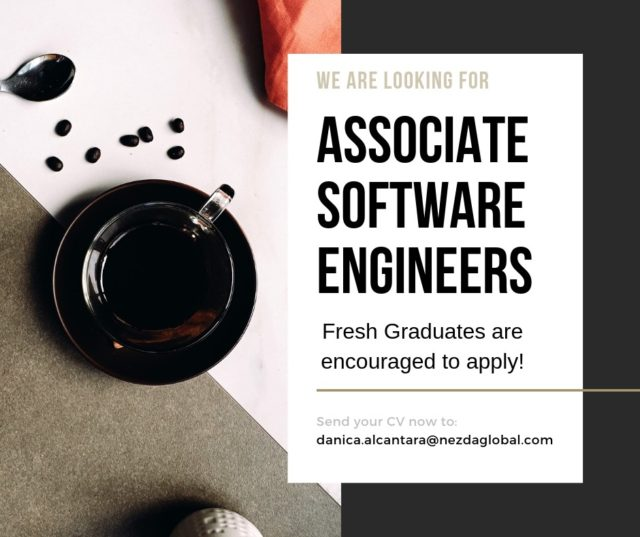 ASSOCIATE SOFTWARE ENGINEERS (Fresh Graduates)